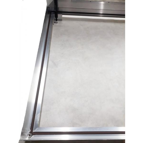 Aluminum floor hatch for indoor and outdoor use 90cm x 90 cm