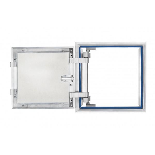 Aluminium inspection Door size 400mm x 400mm for ceramic tiles covering