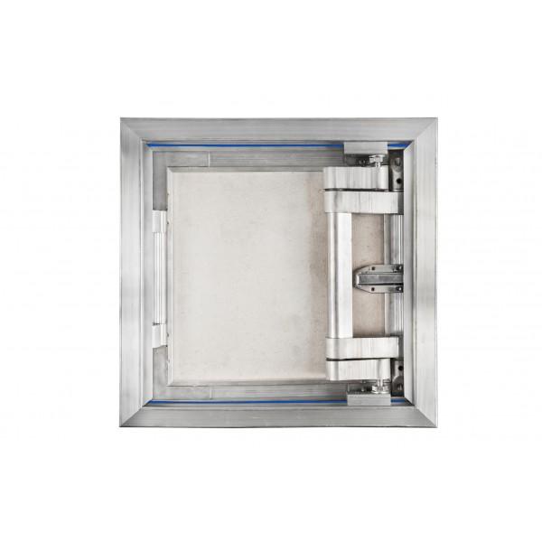 Aluminium inspection Door size 500mm x 500mm for ceramic tiles covering