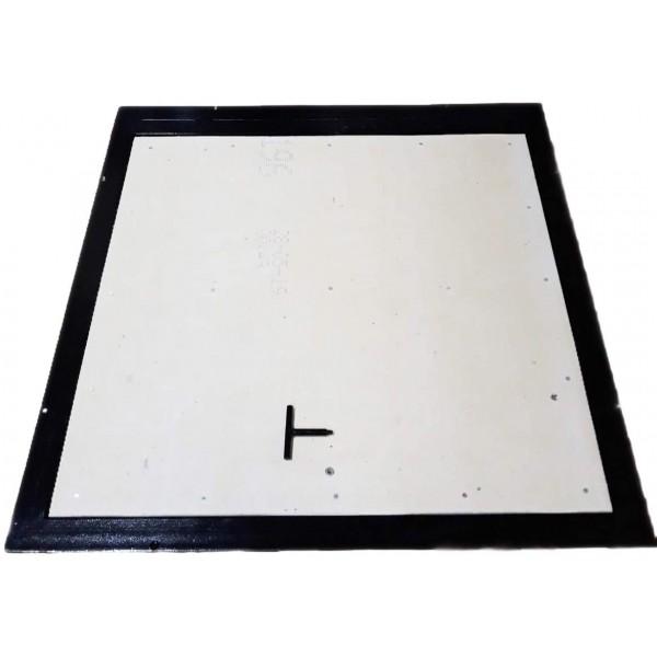 Floor steel access door size 90 cm x 180 cm H