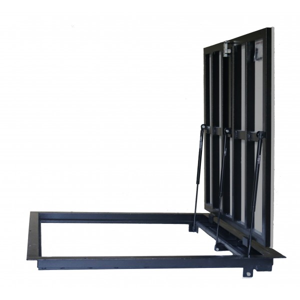 Floor steel access door size 100 cm x 100 cm