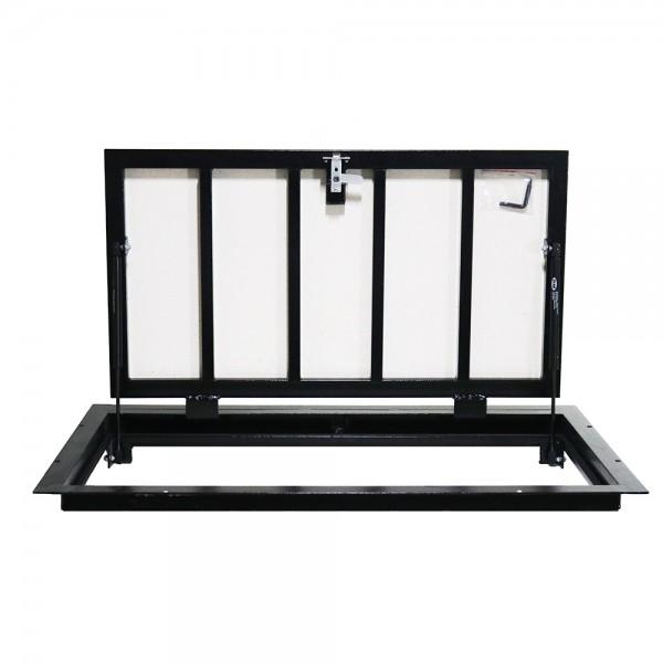 Floor steel access door size 60 cm x 120 cm H