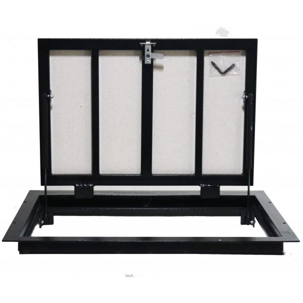 Floor steel access door size 60 cm x 80 cm H